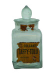 Colgan's Taffy-Tolu Glass Jar