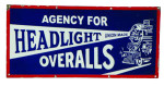 Headlights Overalls Sign