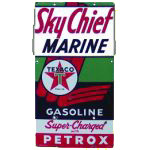Texaco Sky Chief Petrox Sign
