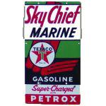 Texaco Sky Chief Petrox Sign