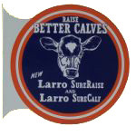 Larro Cattle Feed Flange Sign