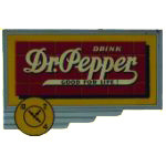 Dr Pepper Drink Sign