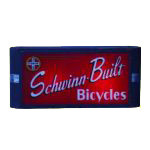 Schwinn Built Bicycle Sign