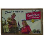 Dr Pepper Station Scene Sign
