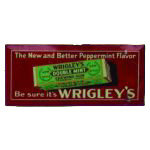 Wrigley's Doublemint Sign