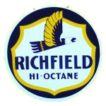 Richfield Hi-Octane Sign