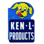 Ken-L Dog Products Sign