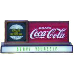 Coca Cola Serve Yourself Sign