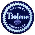 Tiolene Pure Oil Sign