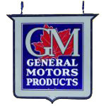 General Motors Hanging Sign