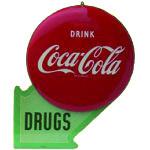 Coca-Cola Drug Store Sign