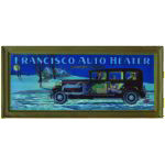Francisco Auto Heater Framed Print