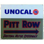 Unocal 76 Daytona Pitt Row Sign