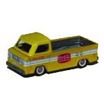 Yellow Coca-Cola Toy Truck