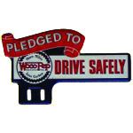 Woco-Pep Drive Safely Sign