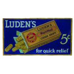 Luden's Cough Drop Sign