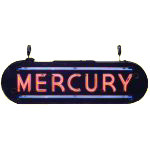 Mercury Neon Sign