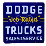 Dodge Trucks Sign