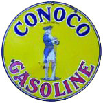 Conoco Gasoline Sign