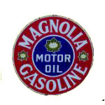 Magnolia Motor Oil Sign