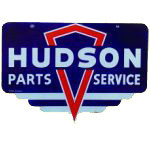 Hudson Parts and Service Sign
