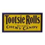 Tootsie Rolls Chewy Candy Sign