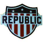 Republic Truck Shield Sign