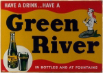 Green River Soda Sign
