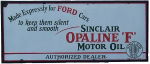 Sinclair Ford Oil Sign