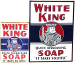 White King Soap Signs