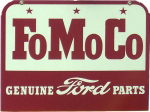 FoMoCo Ford Parts Sign