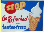 Tastee-Freez Ice Cream Sign