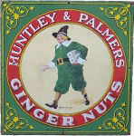 Huntley & Palmer Ginger Nuts Sign