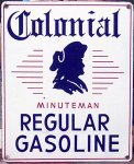 Colonial Gasoline Sign