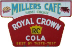 RC Cola Cafe Sign
