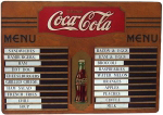 Coca-Cola Menu Board
