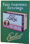 Lilly Ice Cream Advertisement