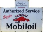 Gargoyle Mobiloil Service Sign