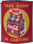 Coca-Cola Cartons Sign