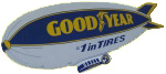 Goodyear Blimp Display