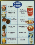 Vintage Dairy Queen Menu