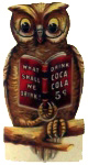 Coca-Cola Owl Sign