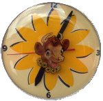 Borden Cow Clock
