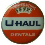 U-Haul Rentals Thermometer