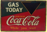 Coca-Cola Gas Price Sign