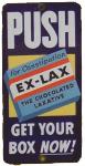 Ex-Lax Door Push