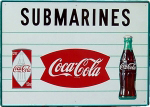 Coca-Cola Submarine Sandwich Sign