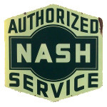 Nash Authorized Service Sign