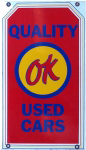 OK Used Car Sign