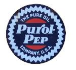 Purol Pep Circular Sign